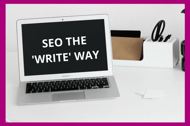 SEO Copywriting the Write Way