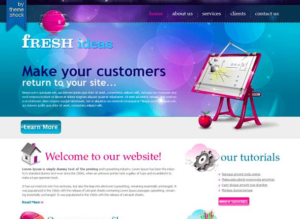 """""""Fancy"""" Website Design"""