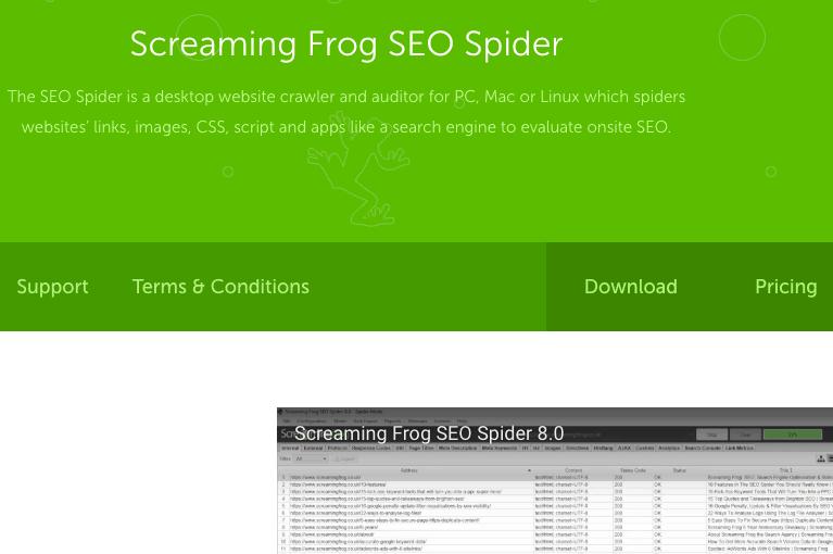 Screaming Frog SEO Tool