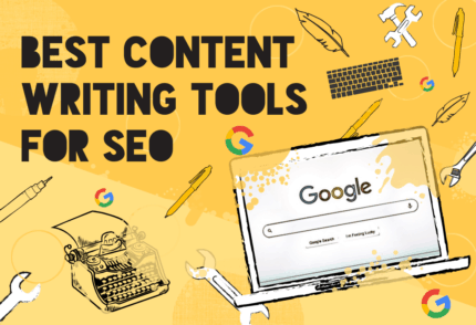 """Best SEO Writing Tools"" blog post image"
