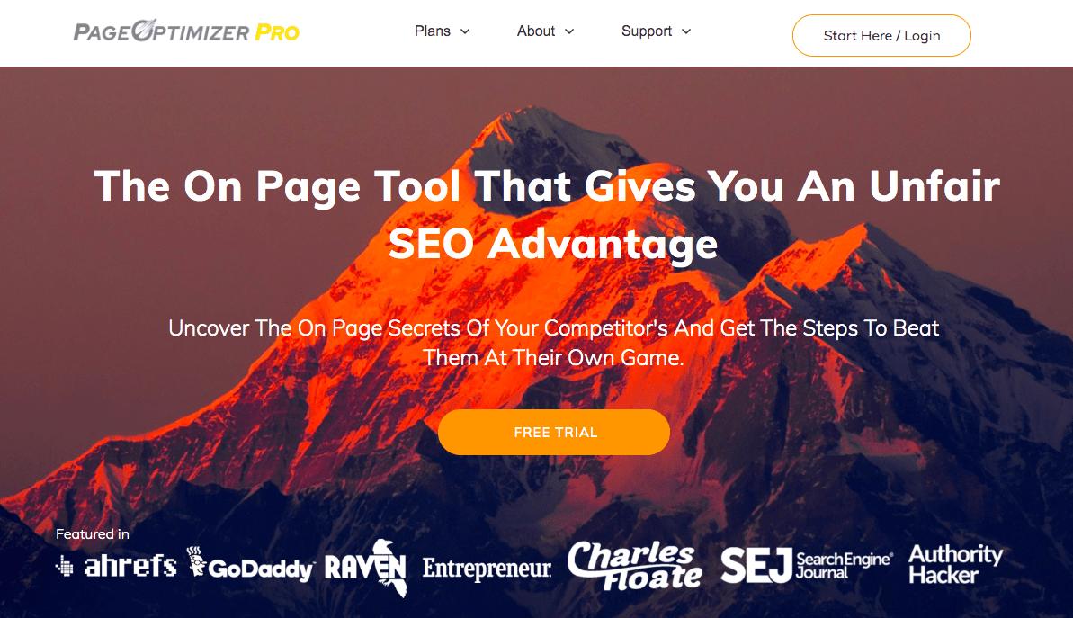 Page Optimizer Pro (POP) content tool