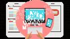 Blog post seo writing service icon